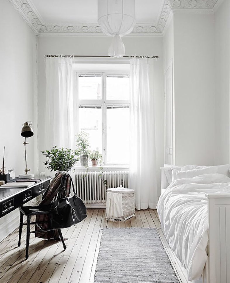 Cozy + White Bedroom :: House of Valentina