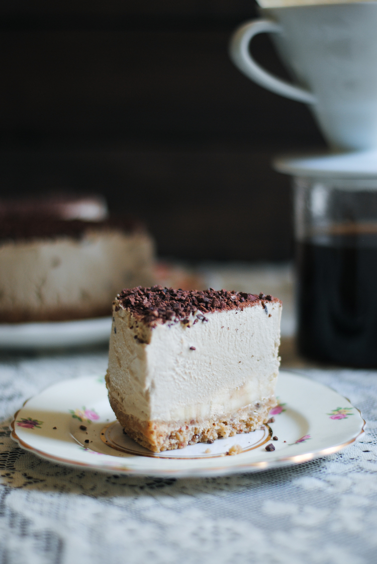 COFFEE + BANANA CREAM PIE