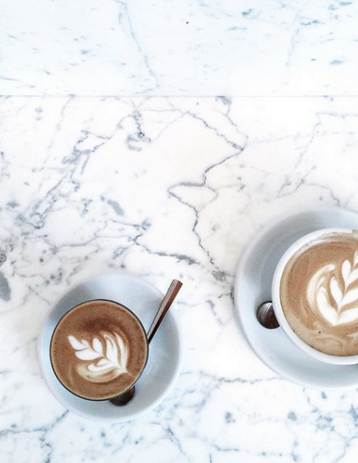 Marble + Coffee