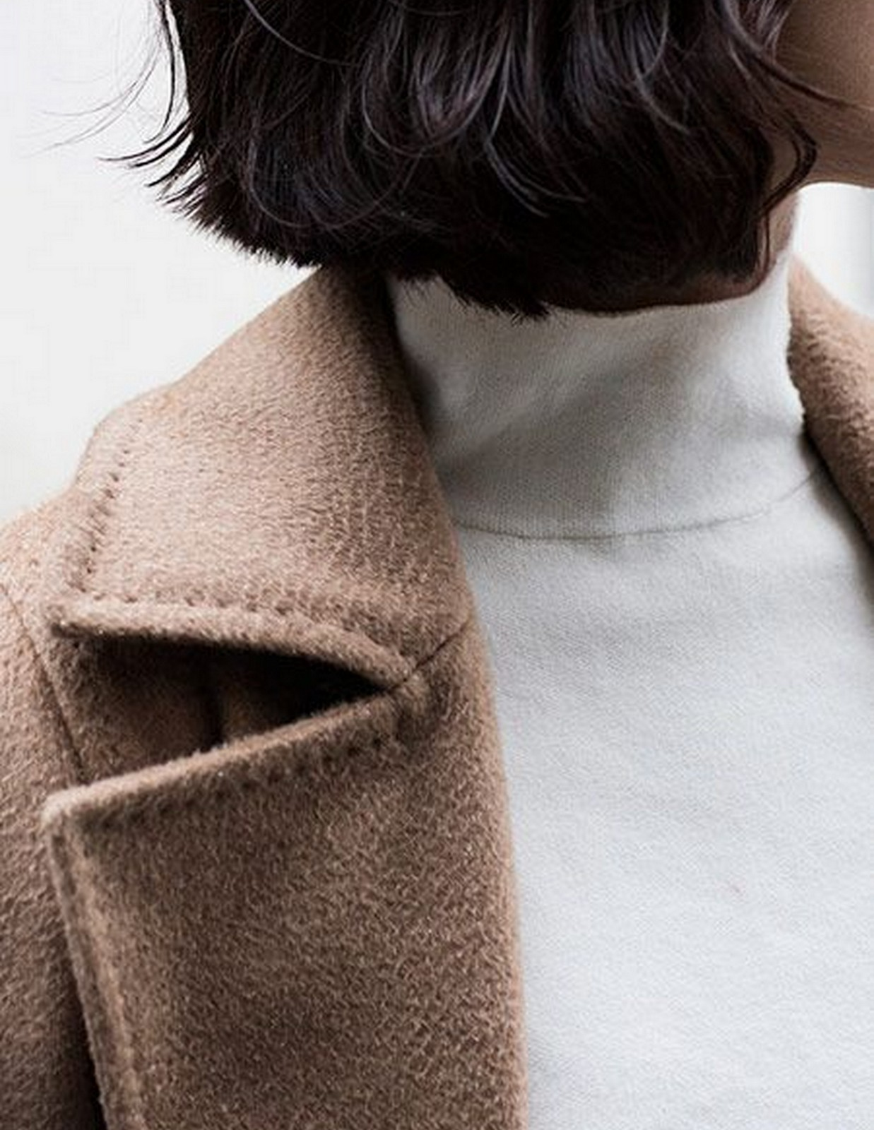 Camel Coat + Turtle Neck :: House of Valentina