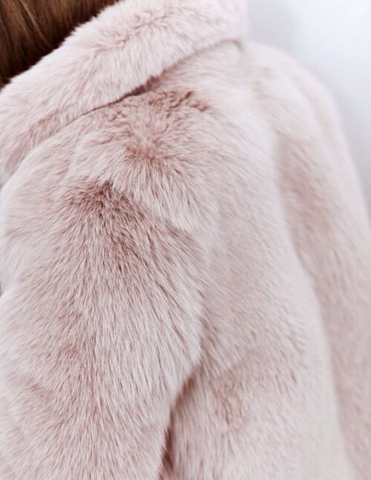 Pink Fur Coat :: House of Valentina
