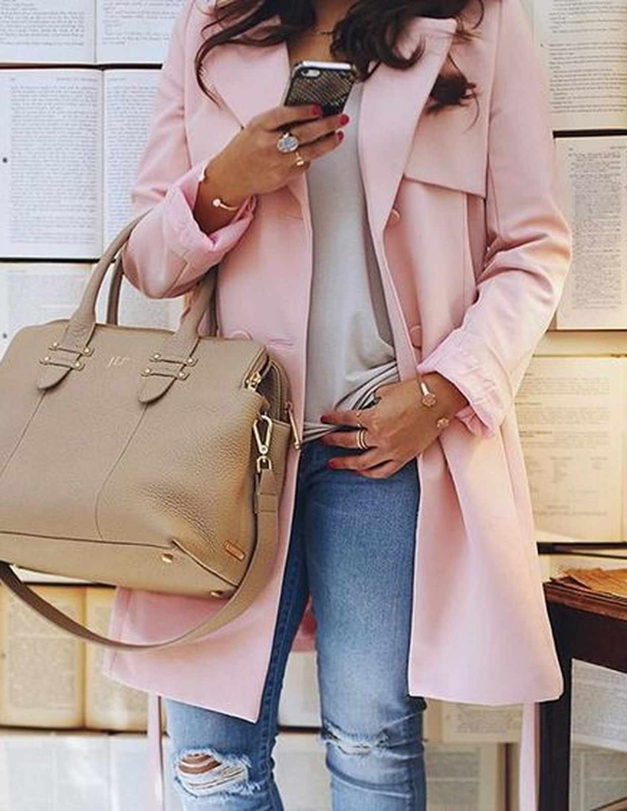 Pink Coat :: House of Valentina