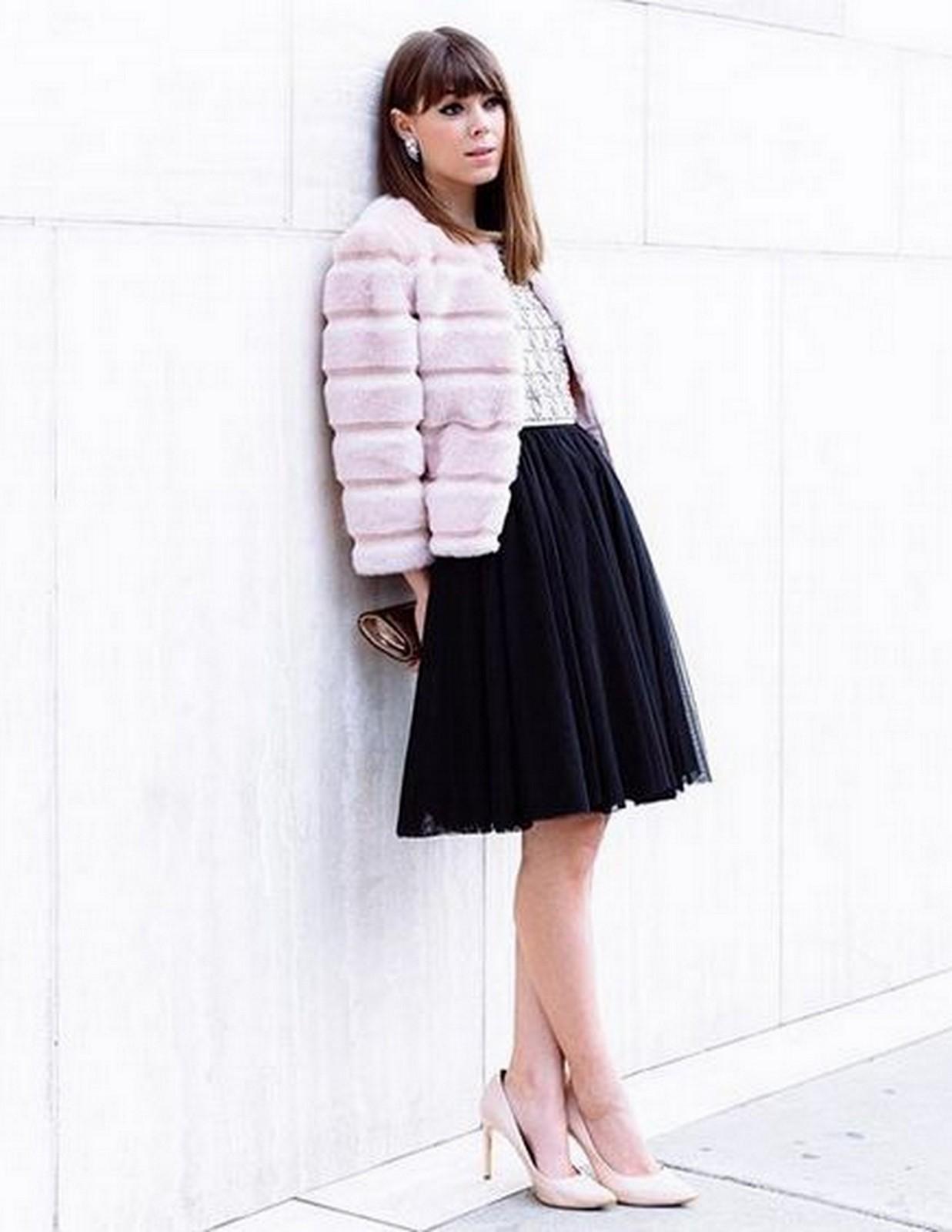 Pink Fur Coat :: House of Valentina