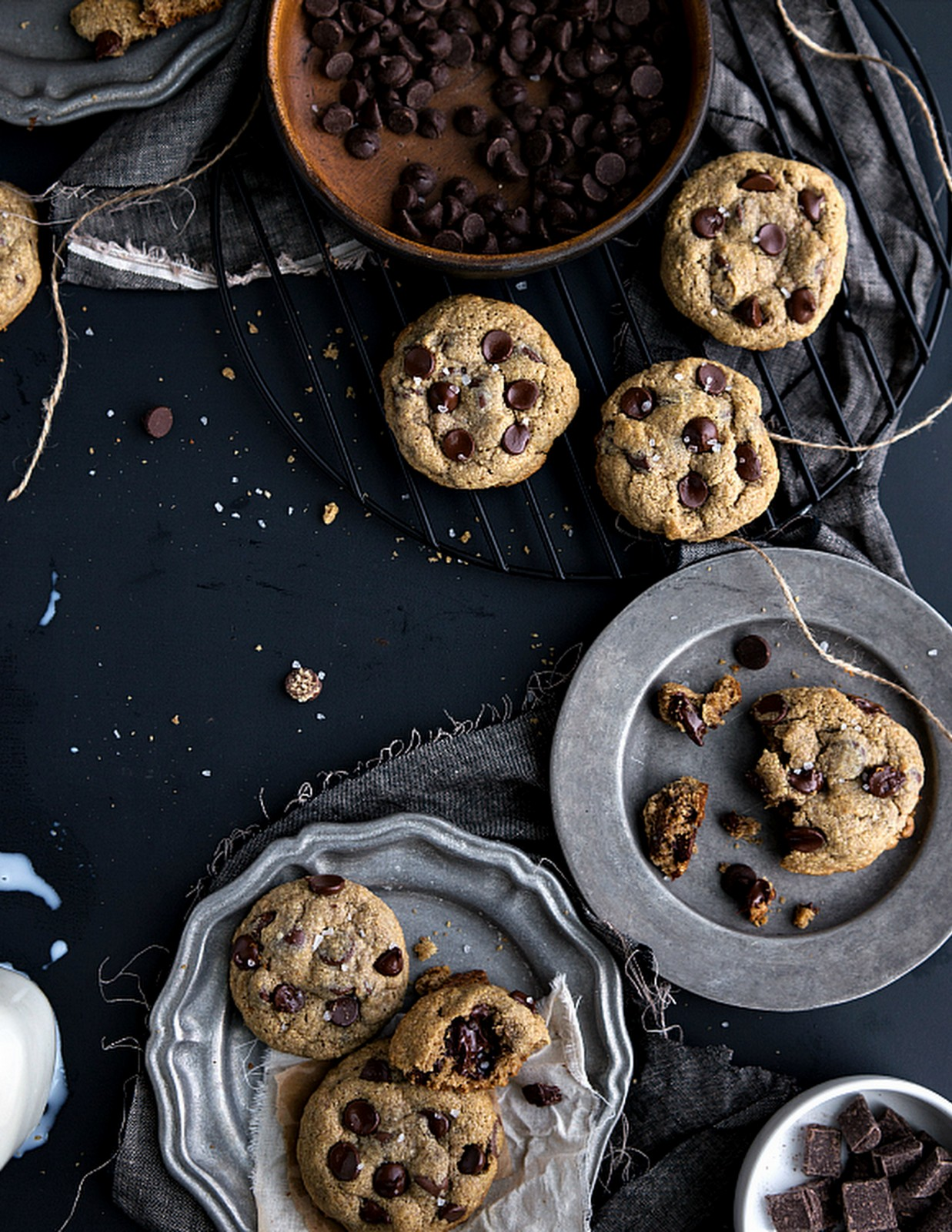 BEST EVER HEALTHY CHOCOLATE CHIP COOKIE
