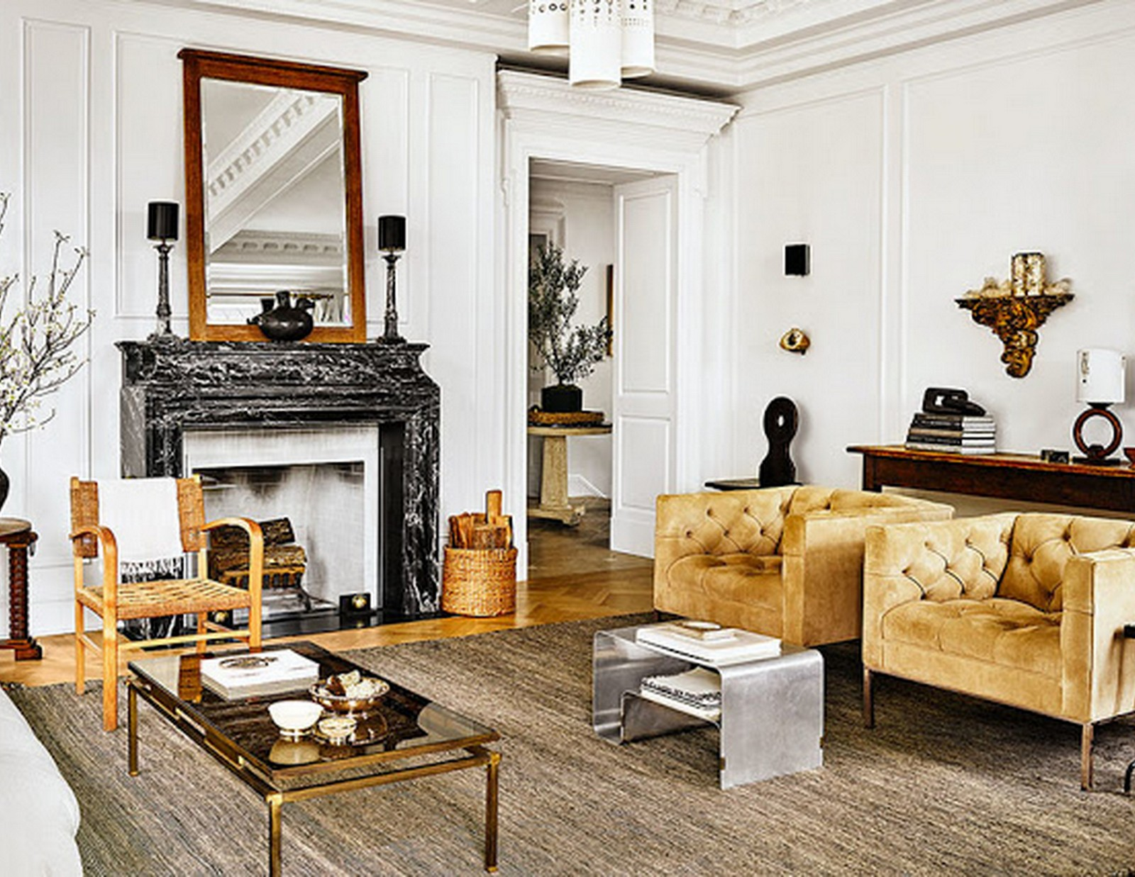 Gold Accents :: Architectural Digest