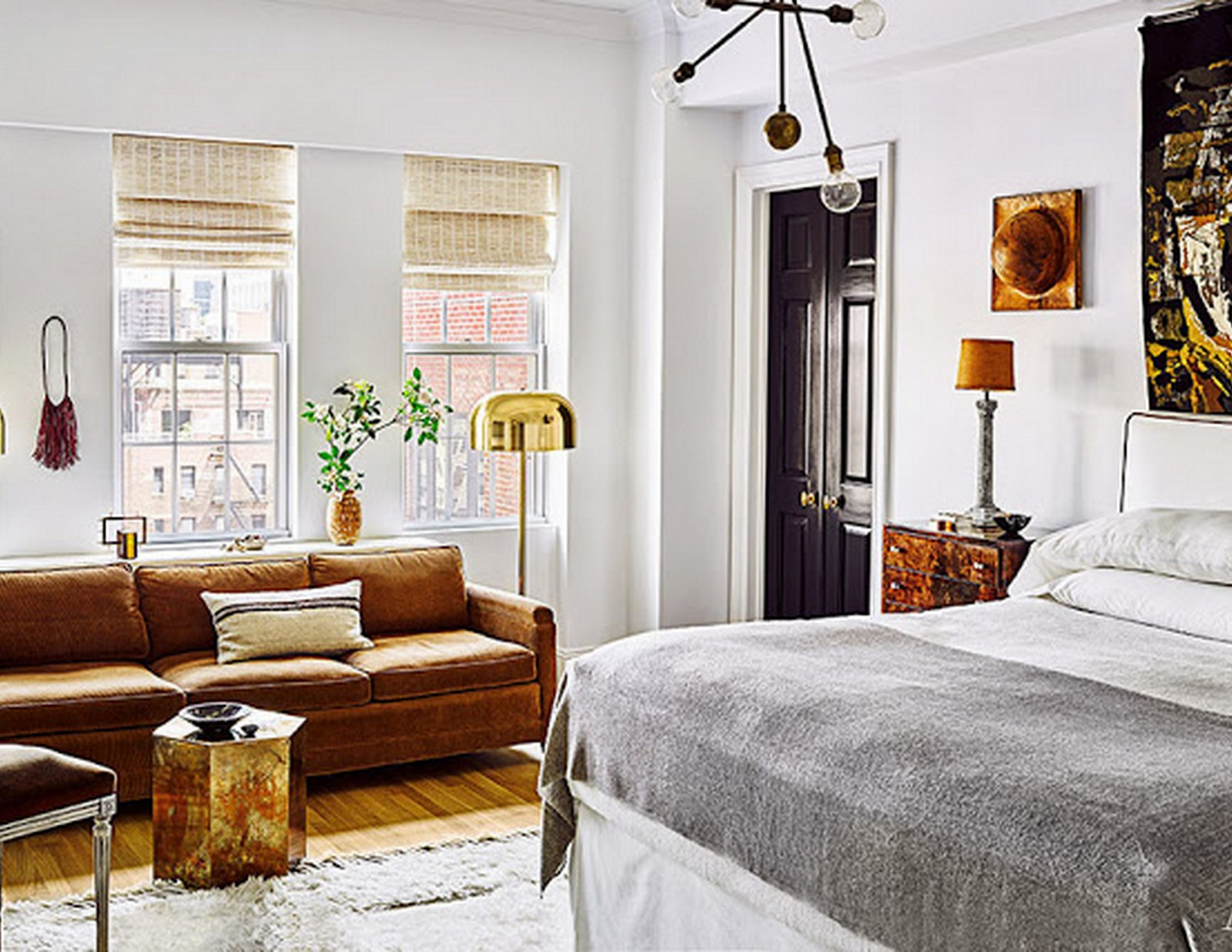 Modern Bedroom :: Architectural Digest