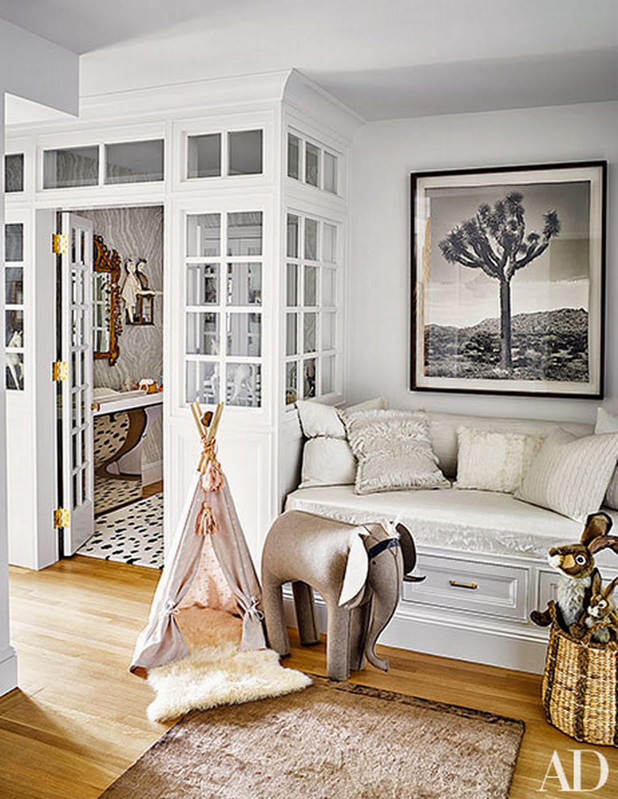Baby Girl Nursery :: Architectural Digest