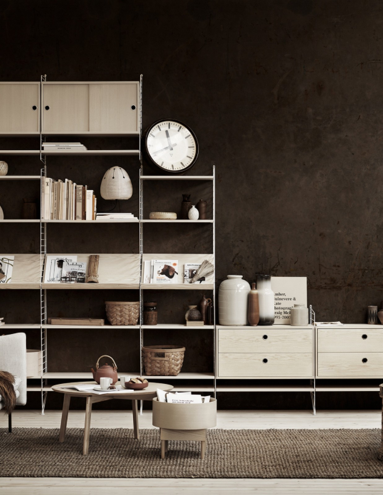 Rustic Modern Office :: Featured on House of Valentina