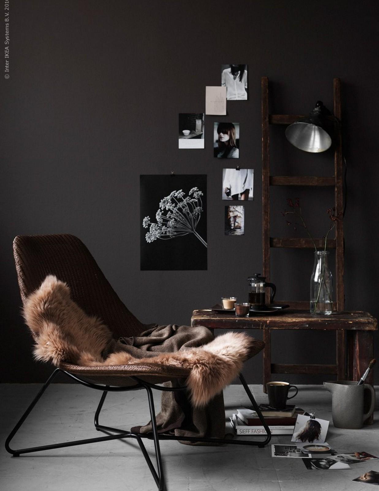 Dark + Elegant :: IKEA