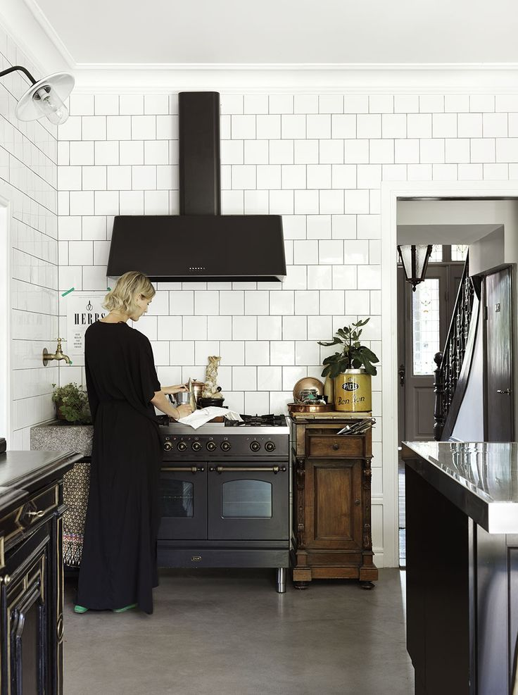 Traditional + Modern Swedish Kitchen :: Featured on House of Valentina