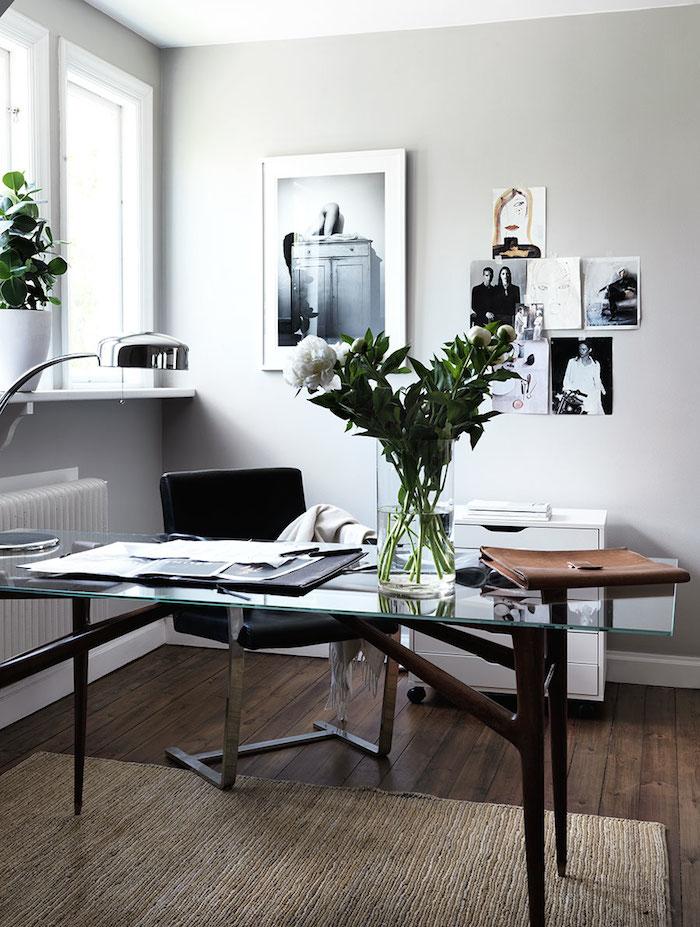 Modern + Feminine Office