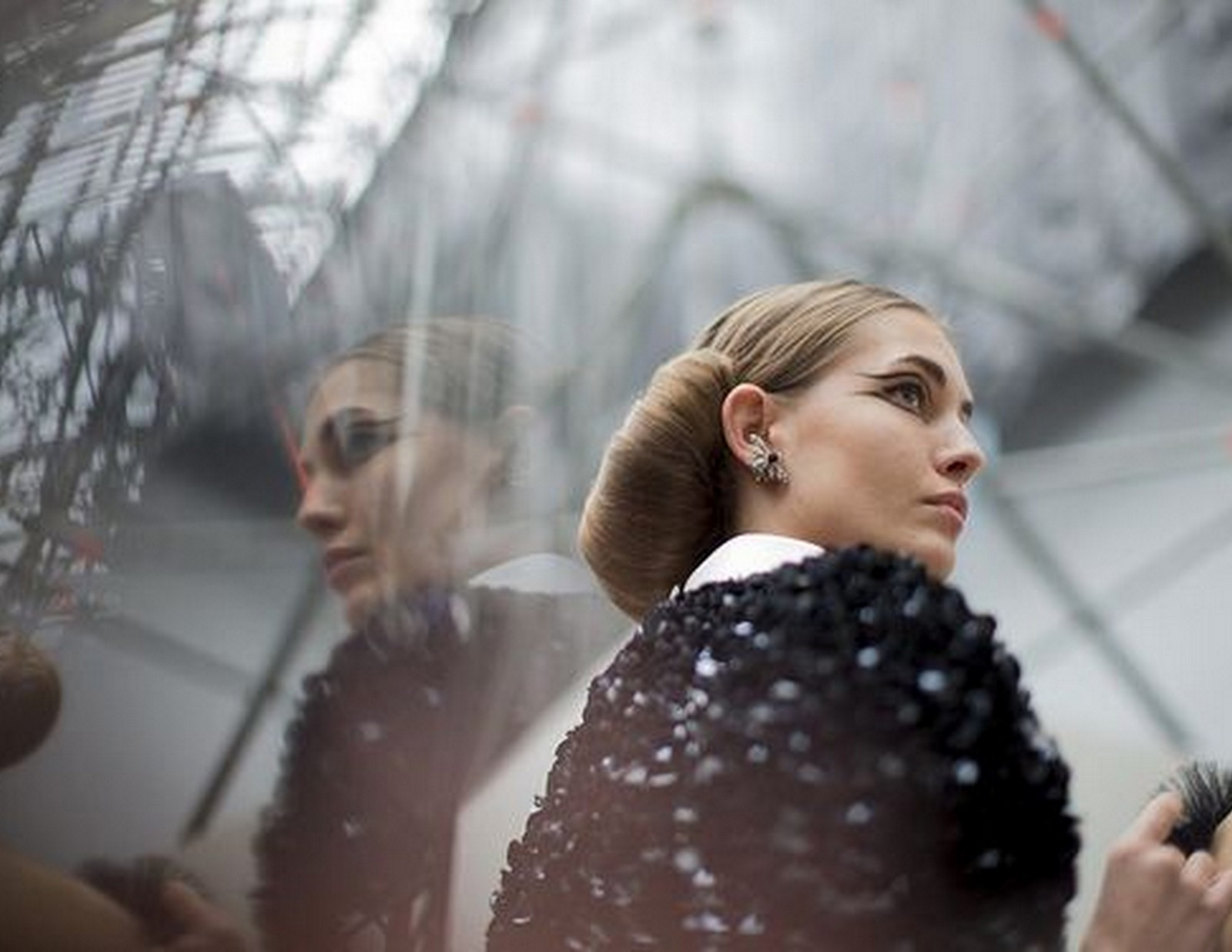 chanel spring 2016 couture backstage Kevin Tachman