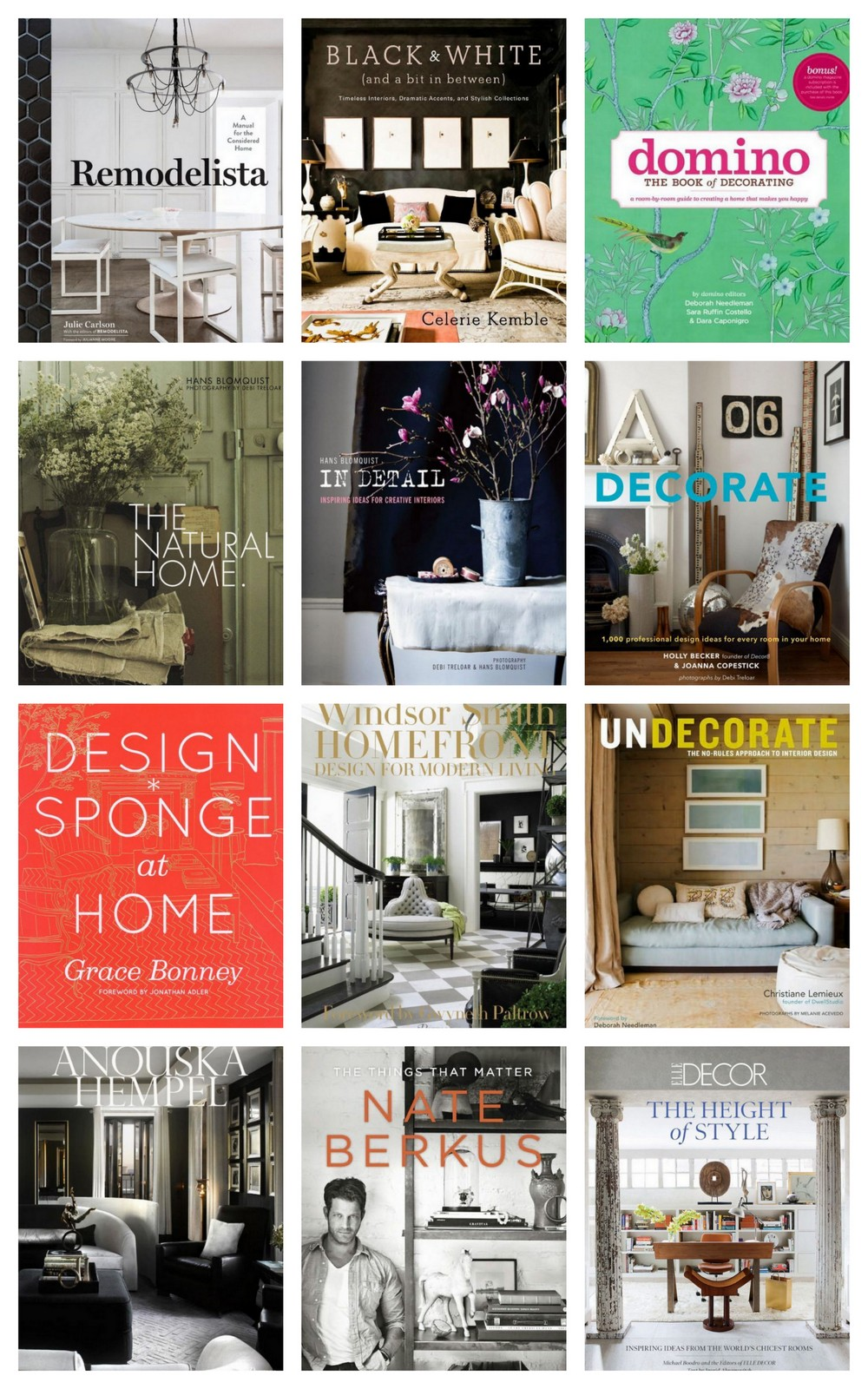 Best Interior Design Books :: Recommended by House of Valentina