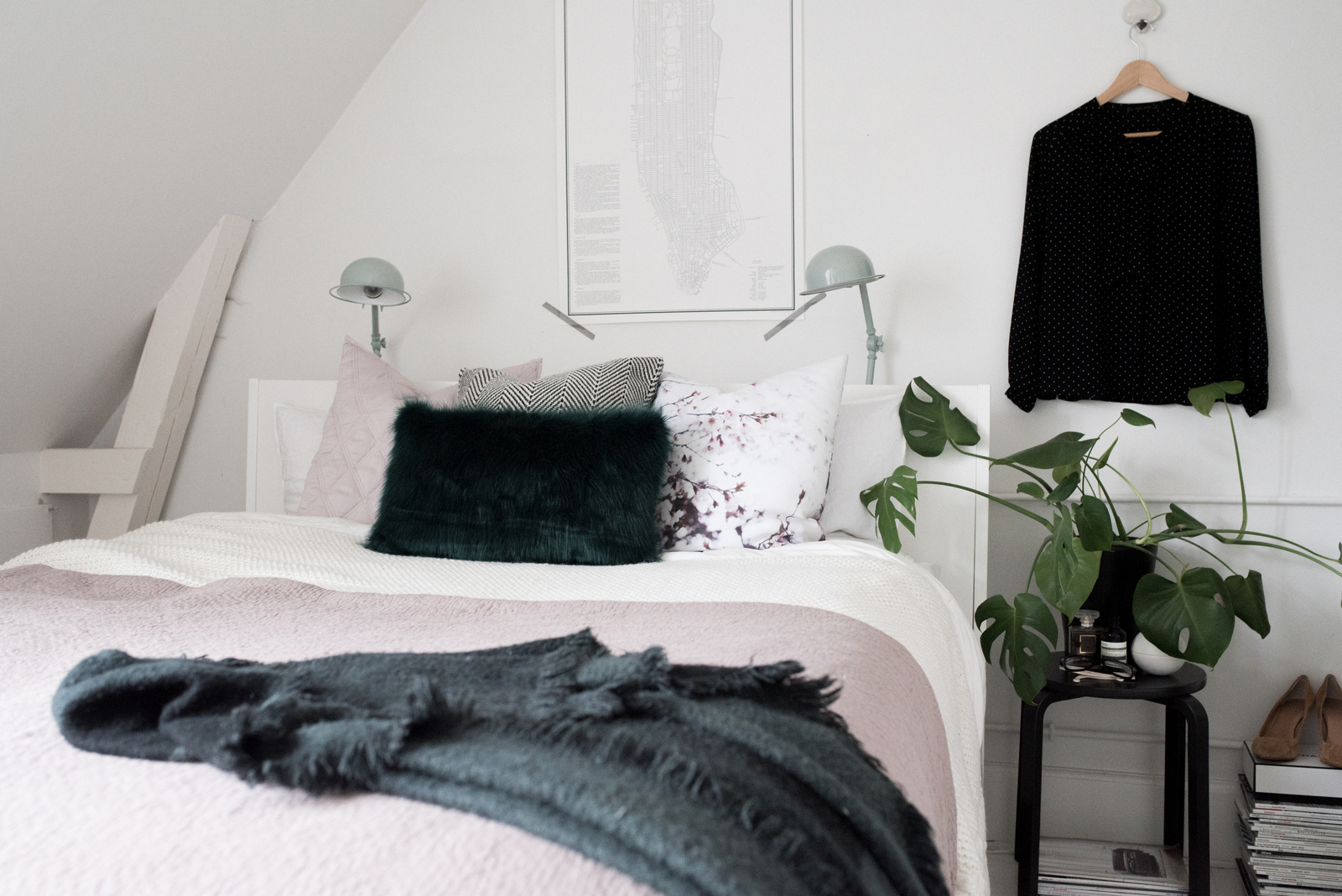Fashion Inspired Modern Master Bedroom