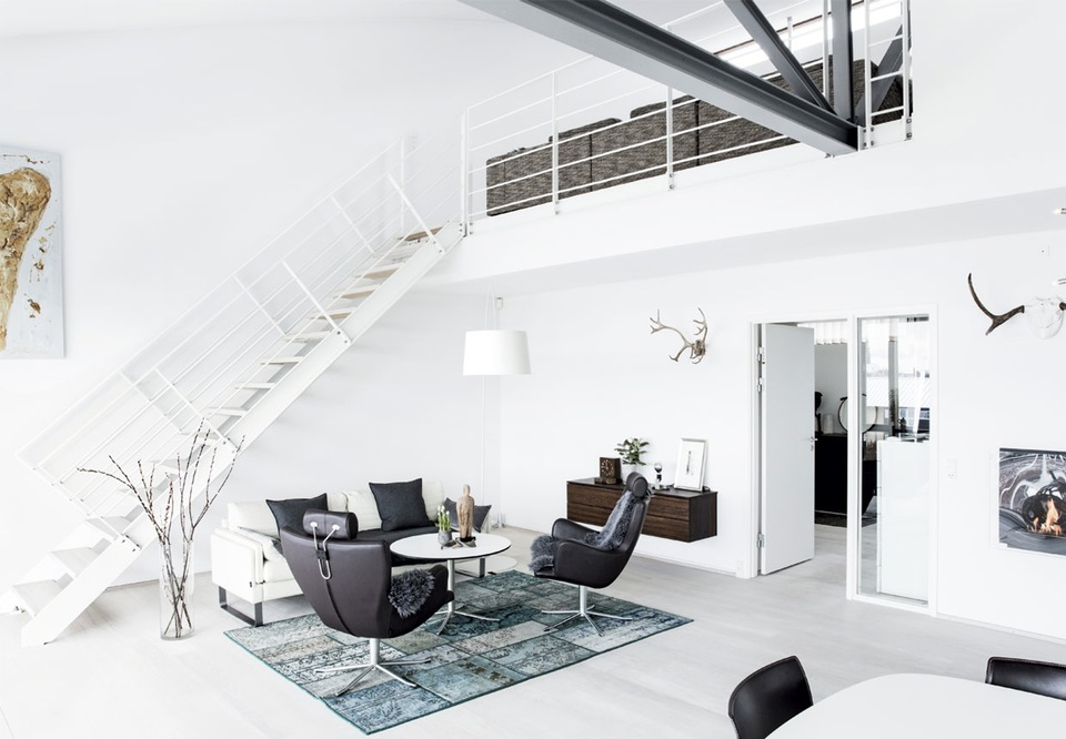 Modern Industrial In Copenhagen :: House of Valentina