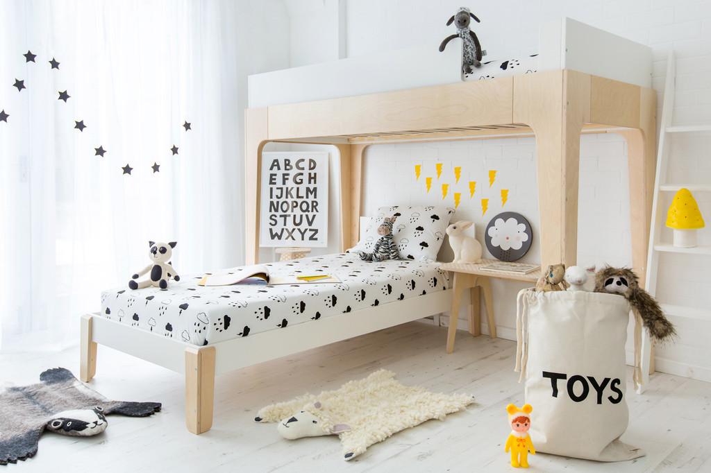 MONOCHROME KID BEDROOM