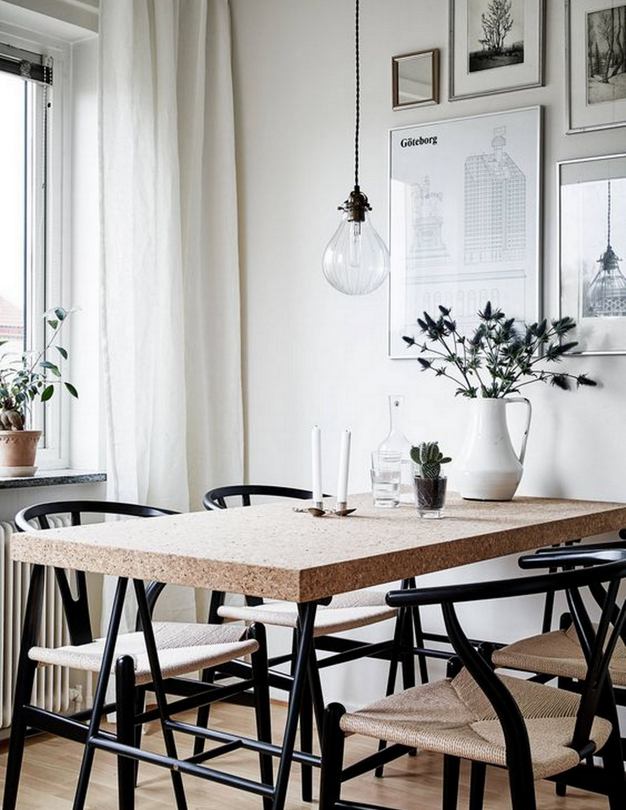 Monochrome Dining
