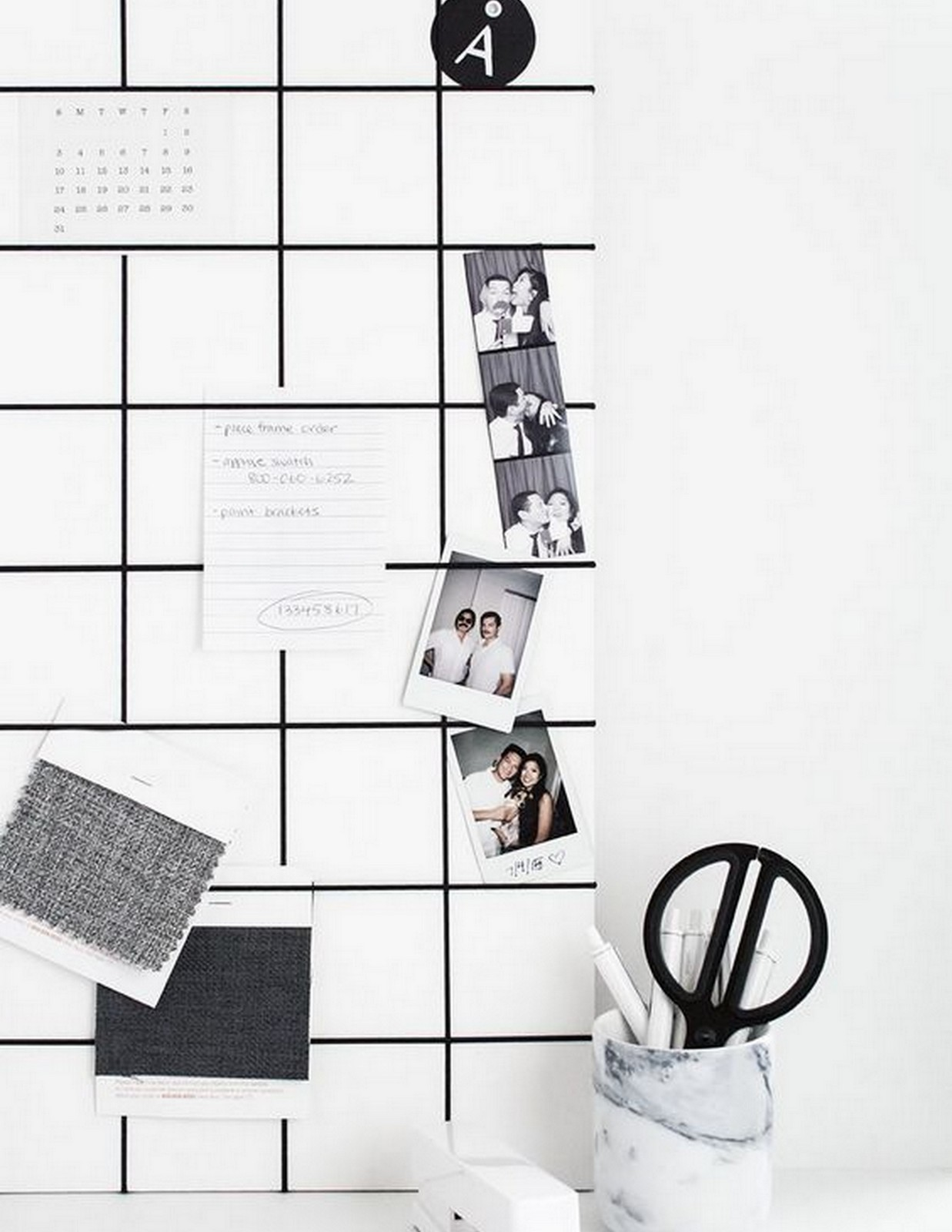 DIY GRID Bulletin Board