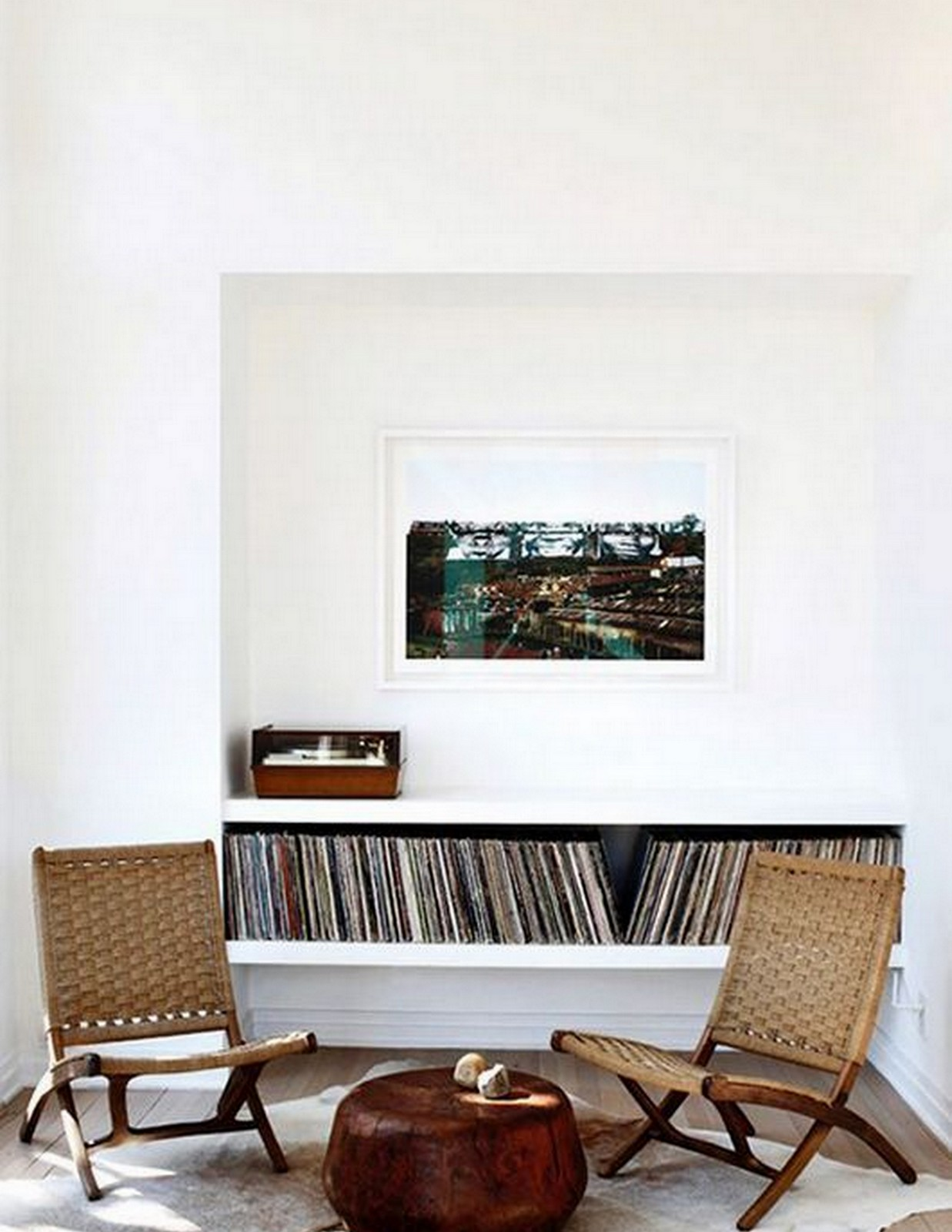 Record Player Sitting Area