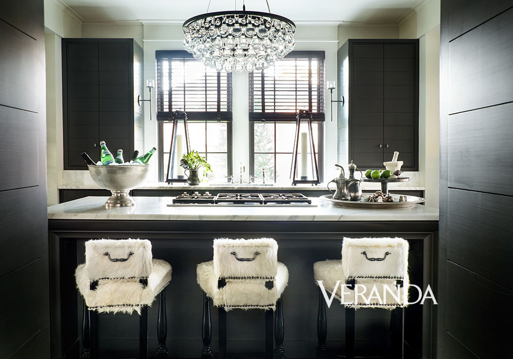 Dark Kitchen | Susan Ferrier | Featured on House of Valentina