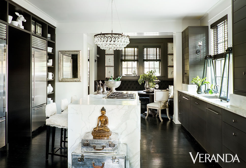 Elegant Kitchen | Susan Ferrier | Featured on House of Valentina