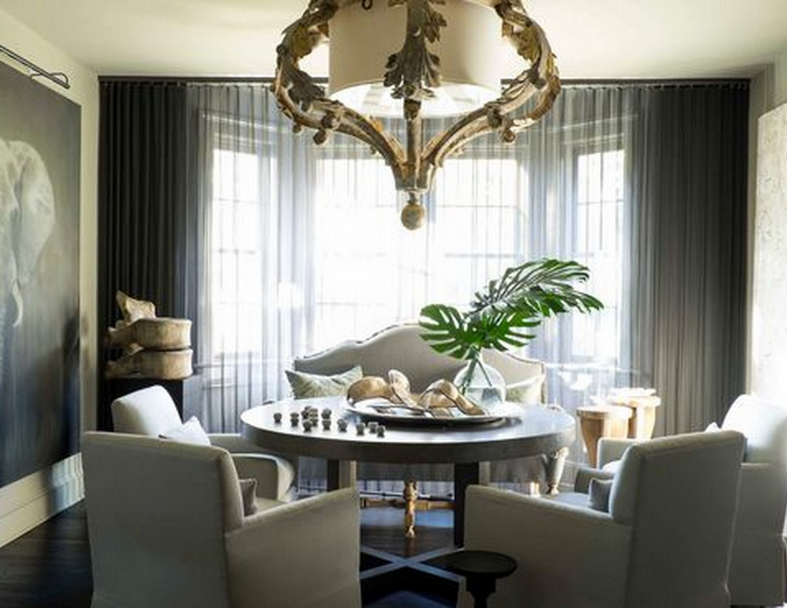 Susan Ferrier Dining Room | Featured on House of Valentina