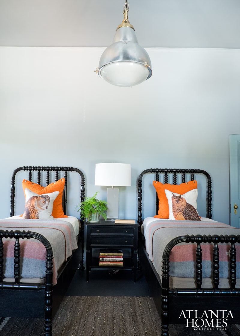 Traditional Southern Modern Shared Bedroom| House of Valentina