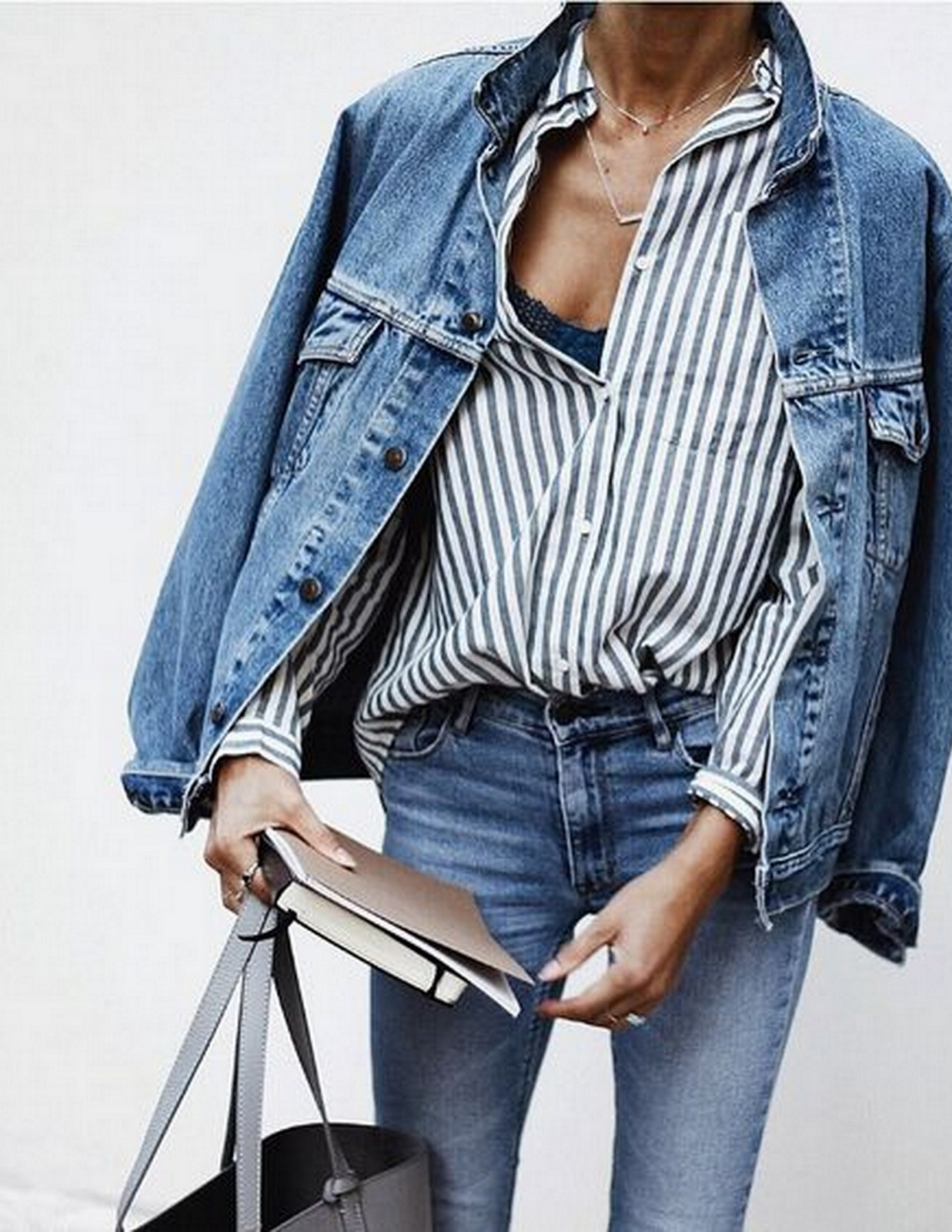 STRIPES + DENIM