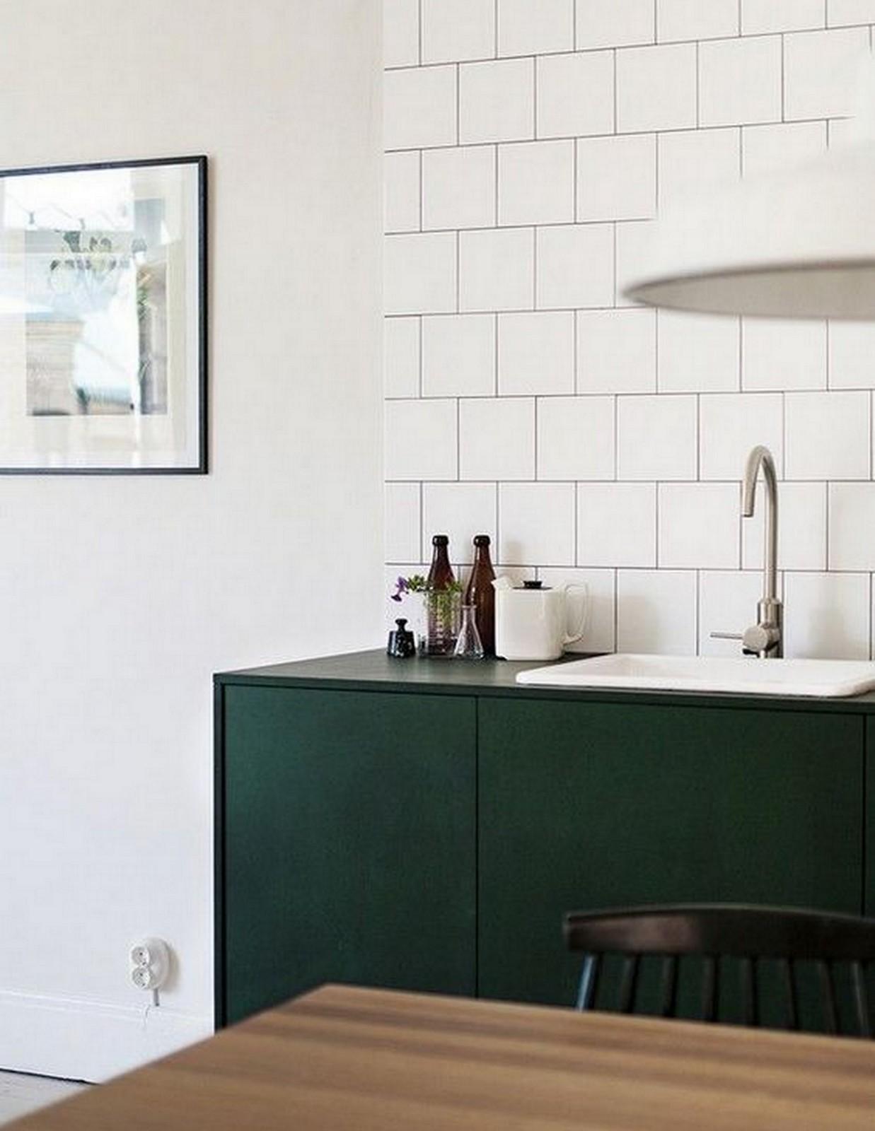 Forrest Green Kitchen | House of Valentina
