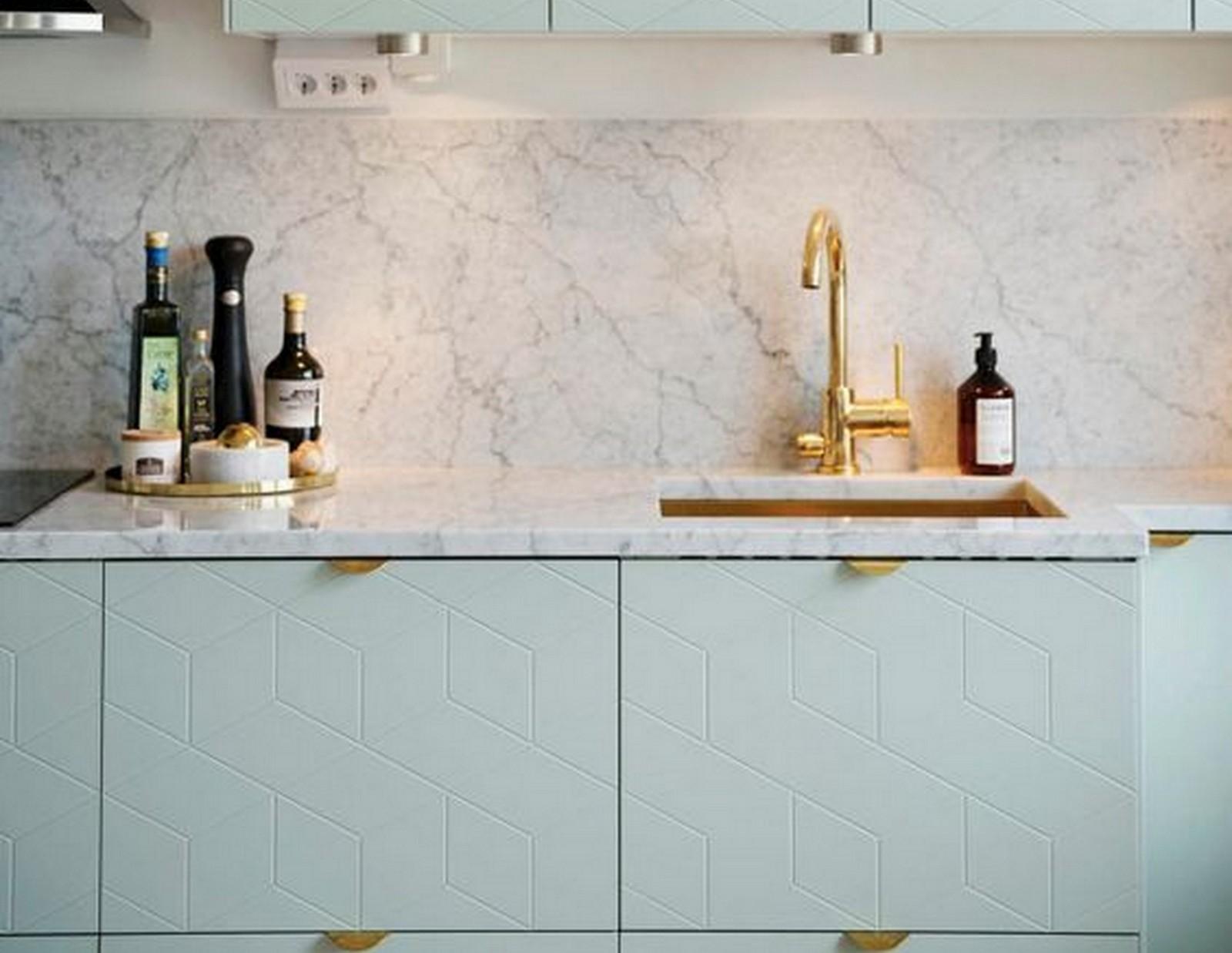 Pistachio Green Kitchen | House of Valentina