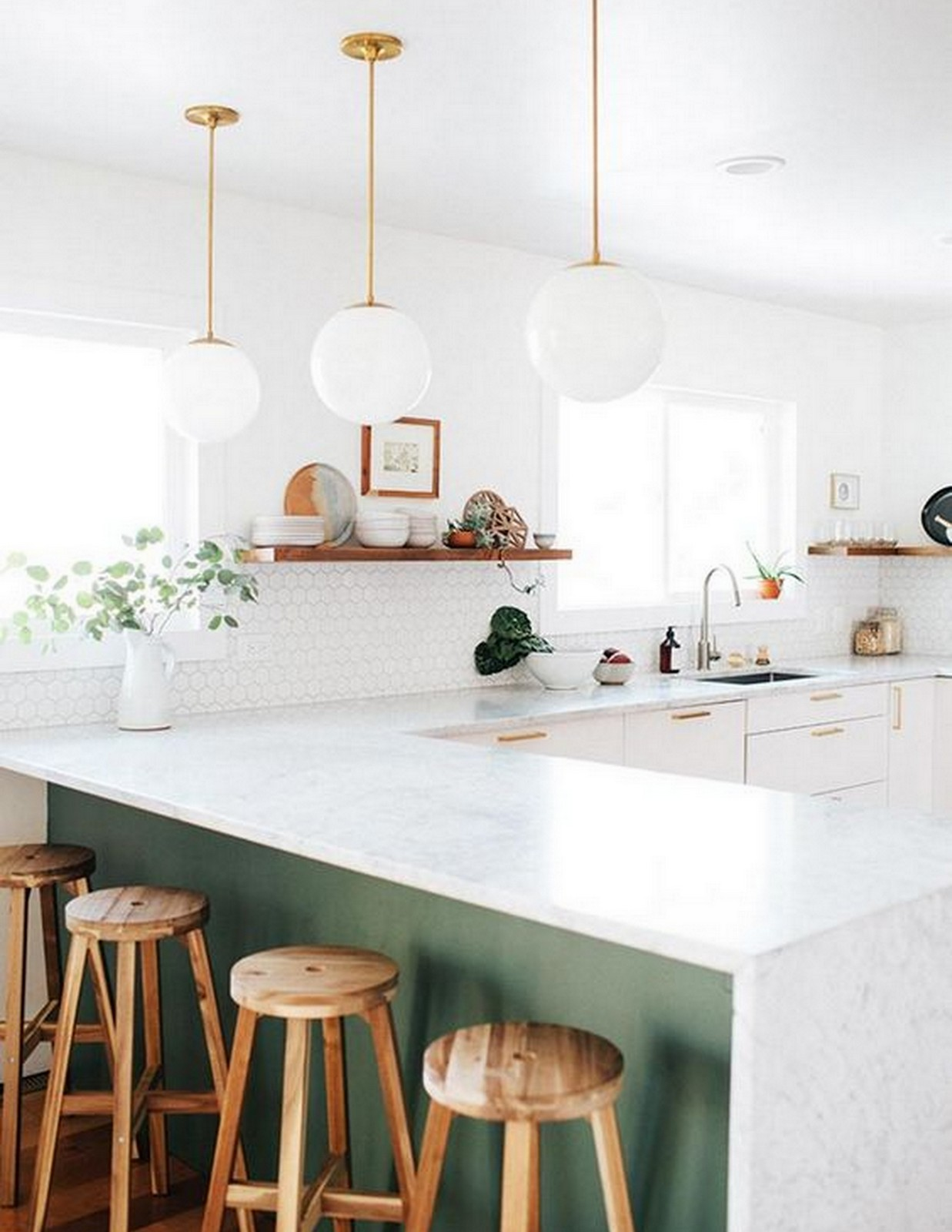 Olive Green Kitchen | House of Valentina