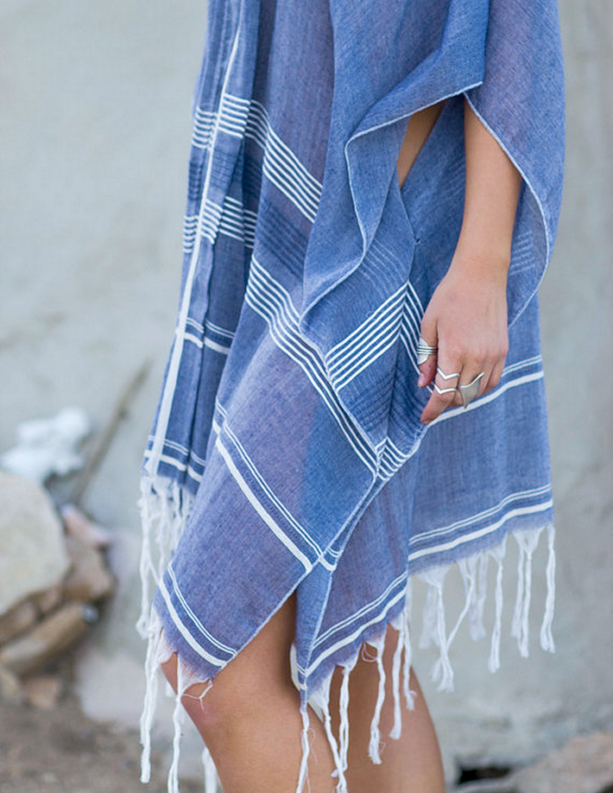 Blue Beach Wrap | House of Valentina