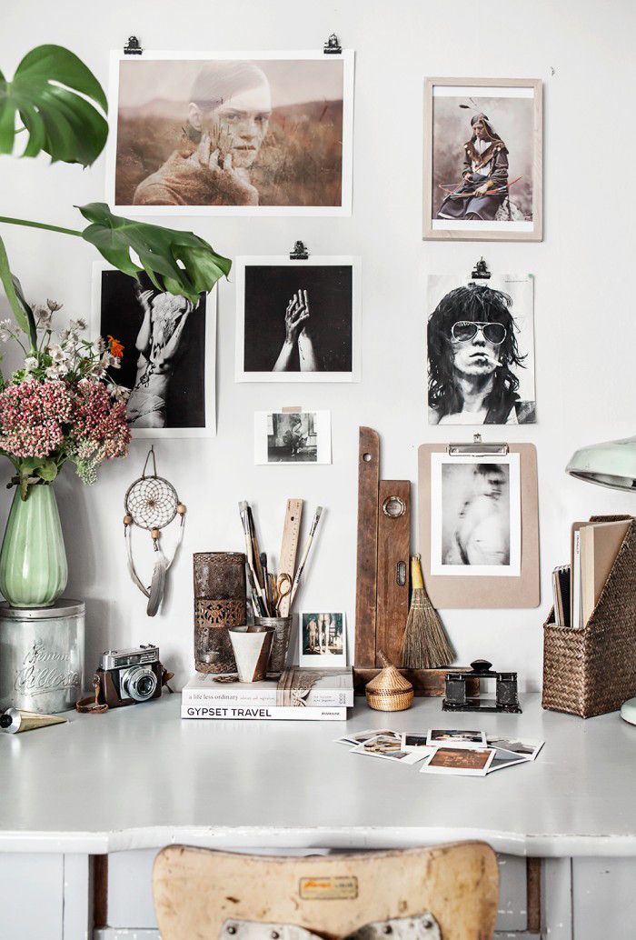 Natural Mood Board Inspiration | House of Valentina