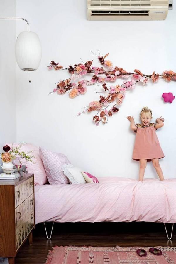 MODERN PINK GIRL BEDROOM
