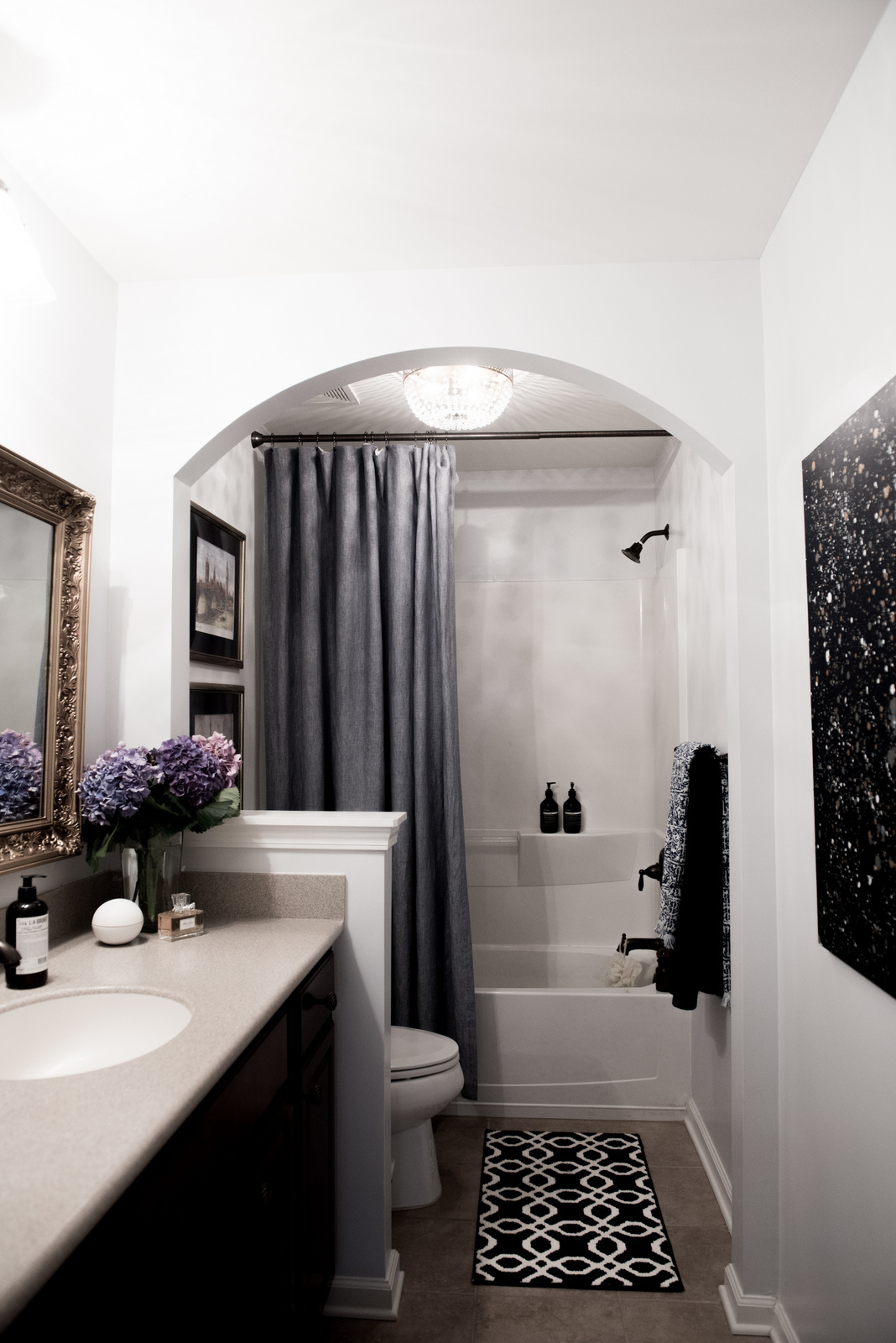 Valentina Fussell Guest Bathroom Makeover