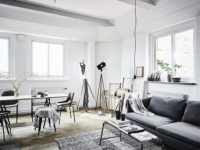 An Artists Home in Sweden