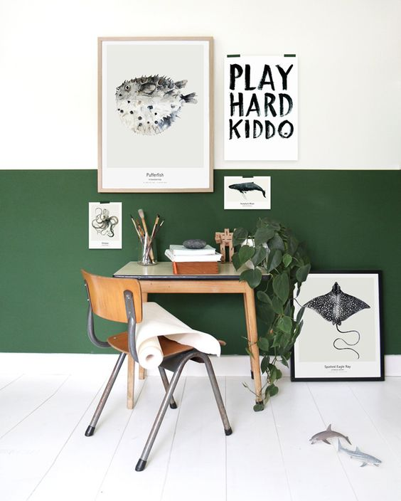 GREEN PLAYROOM | HOUSE OF VALENTINA
