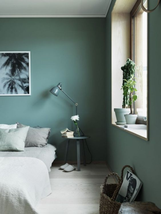 GREEN BEDROOM | HOUSE OF VALENTINA