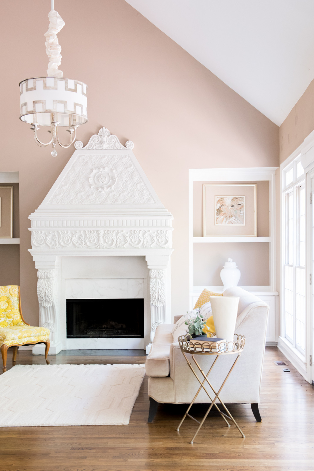 Love It or Leave It? The VERY ornate Fireplace