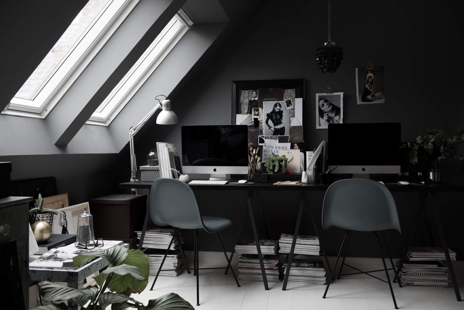 Dark Grey | Modern | Glam | Home Office