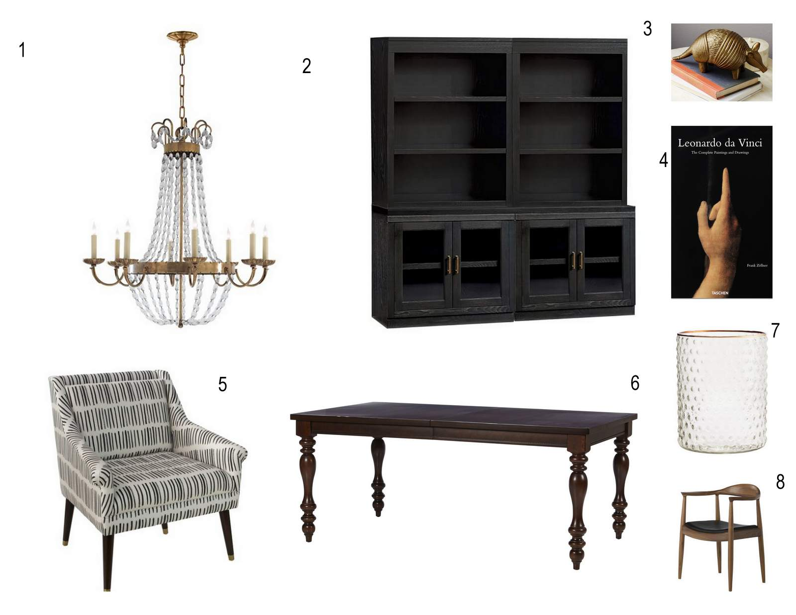 Dining Room Office | House of Valentina