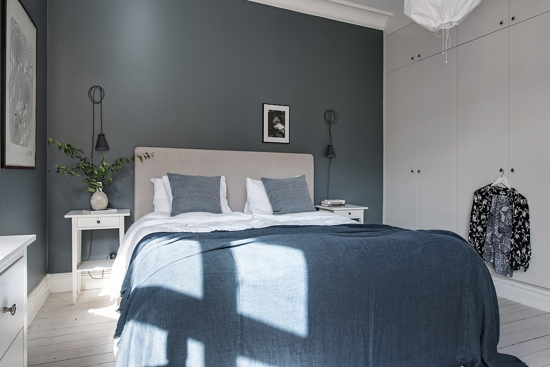 Swedish Homes in Shades of Blue