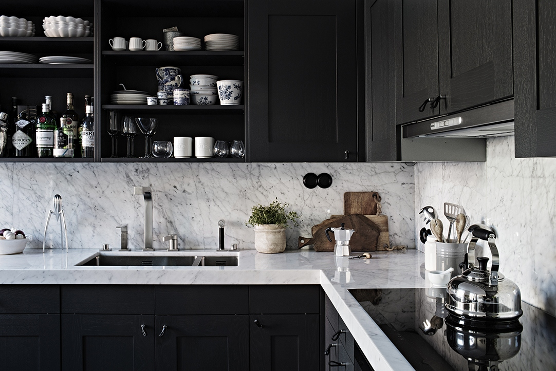 Black and Grey Modern Simplicity