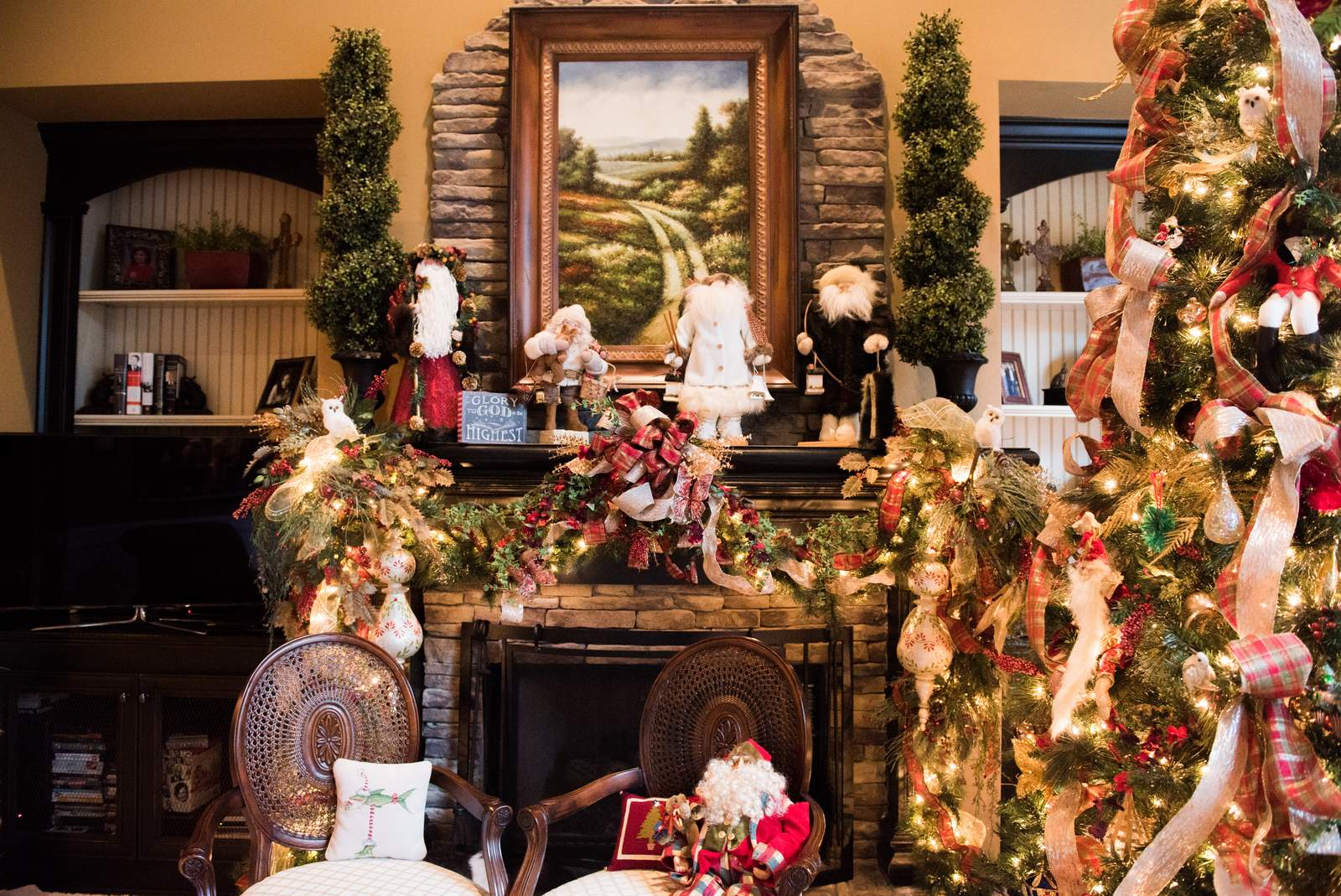 Traditional Southern Christmas:: House of Valentina