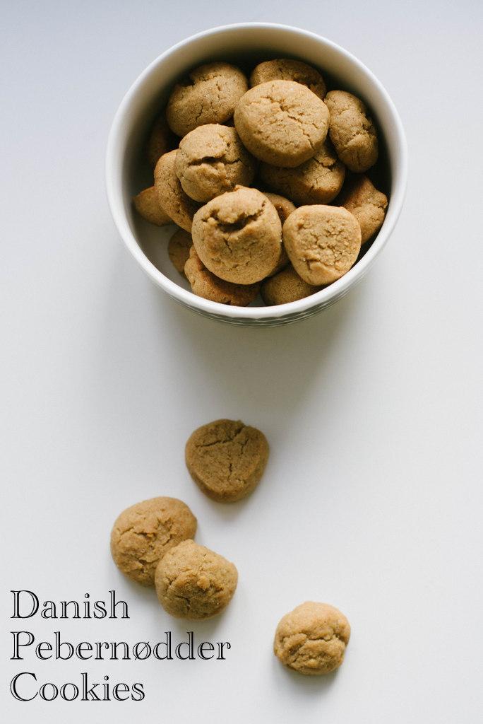 Danish Pebernodder Christmas Cookies