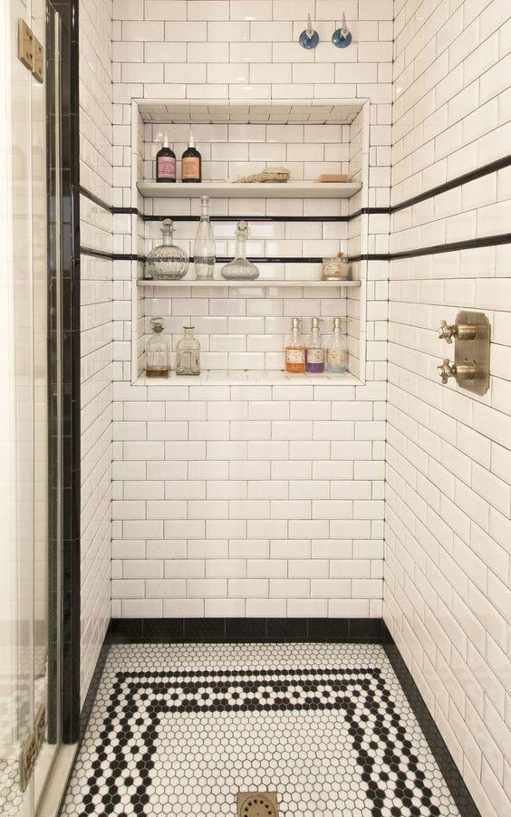 Art Deco Bathroom :: House of Valentina