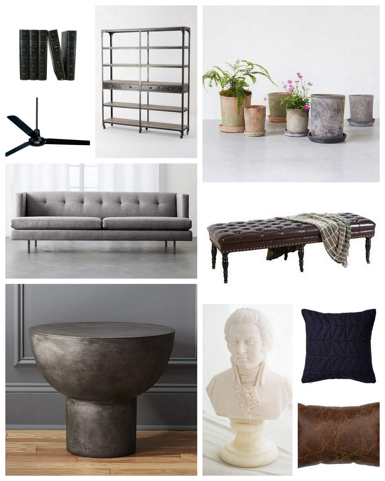 Raw Elegant Living Room :: House of Valentina