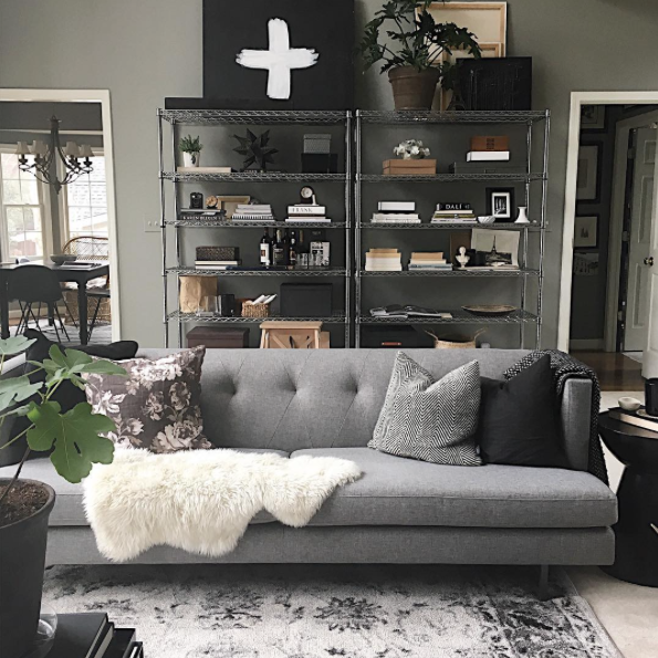 Suburban Living Room Makeover:: House of Valentina