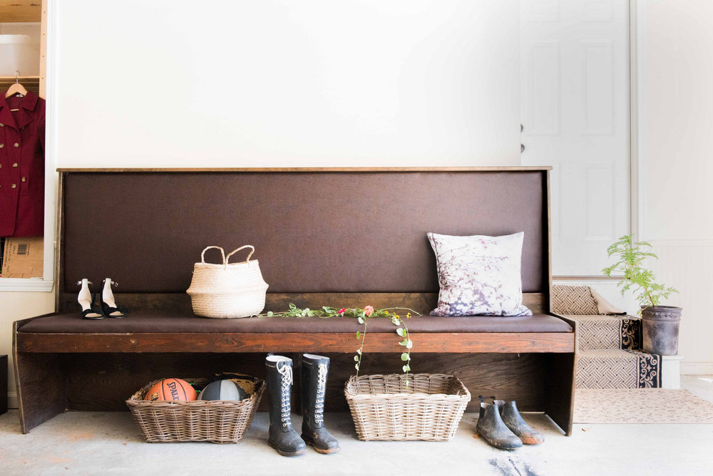 Cafe Bench, perfect for the mudroom or breakfast room... or wherever you like!
