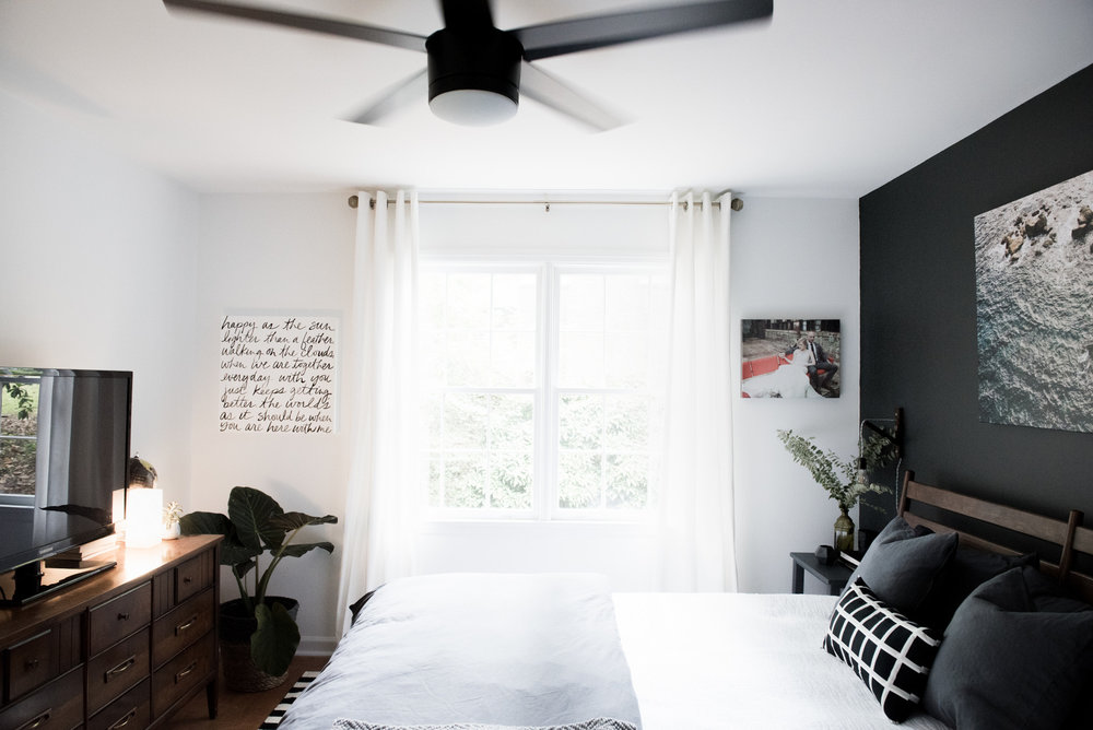 Scandinavia Modern Meets An American Master Bedroom  -